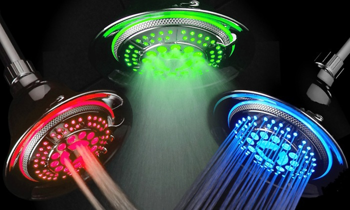 advantages of using a led shower head