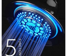 best led shower head