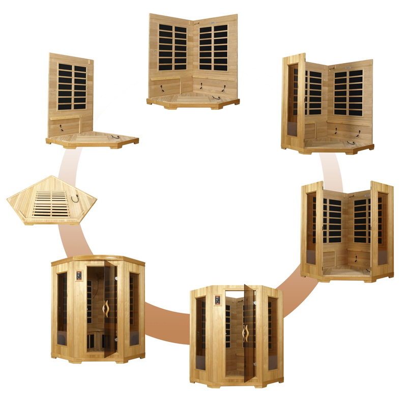 infrared sauna installation
