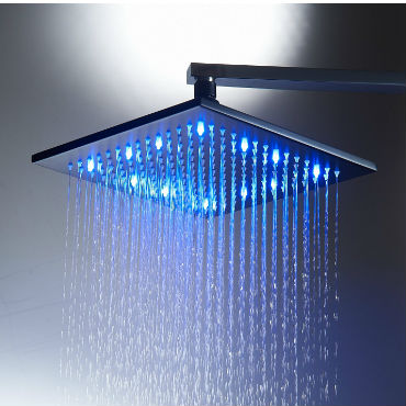 shower head with led lights