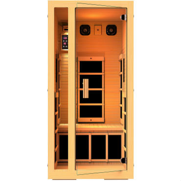 small 1 person infrared sauna