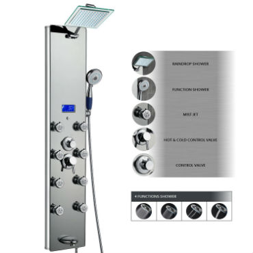 Top Rated Shower Panel Systems